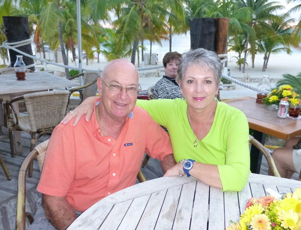 Joyce Urzada and Bob Sylvestre
