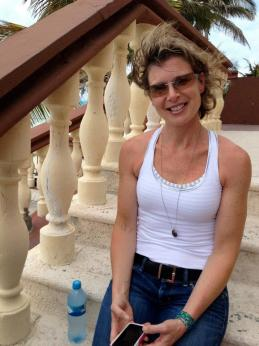 Kristen Crowe We Move Forward Women's Conference Retreat Isla Mujeres Mexico