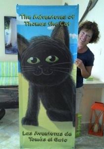 Thomas thr Cat We Move Forward Women's Conference Retreat Isla Mujeres Mexico