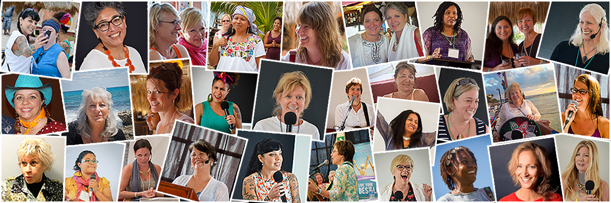 Speakers at We Move Forward Women's Conference Retreat Isla Mujeres Mexico