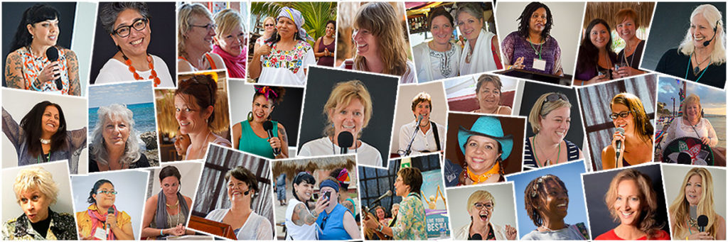We Move Forward Speakers - Women's Conference Retreat Isla Mujeres Mexico