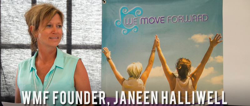 Janeen Halliwell - We Move Forward Women's Conference Retreat Isla Mujeres Mexico