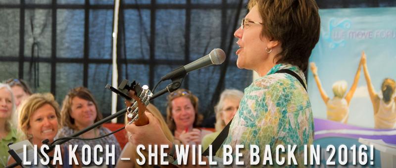 Lisa Koch - We Move Forward Women's Conference Retreat Isla Mujeres Mexico